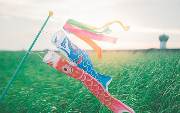 手工鲤鱼旗